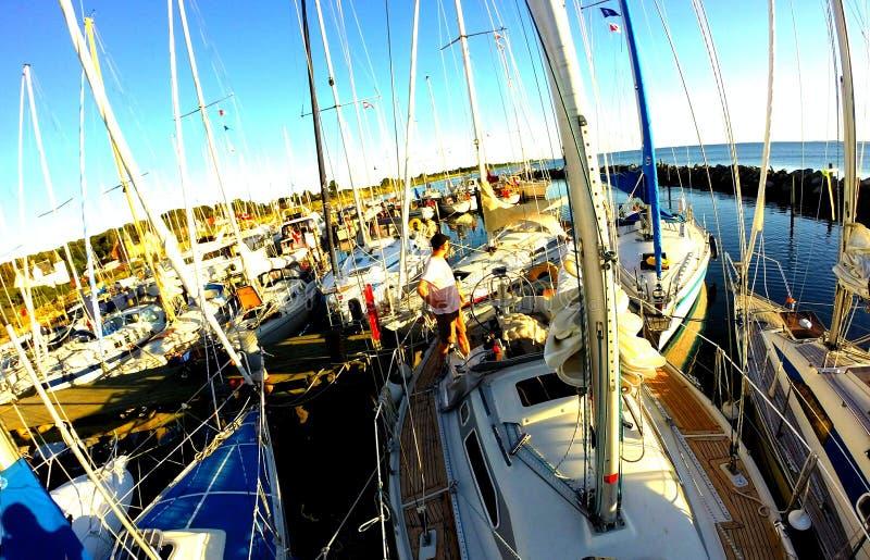 Fartyg - Östersjön fotografering för bildbyråer
