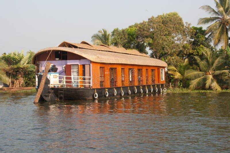 Fartyg | Alleppey Kerala royaltyfria bilder