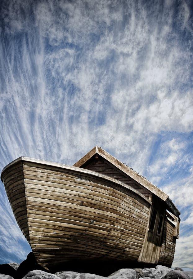 Fartyg av noah fotografering för bildbyråer