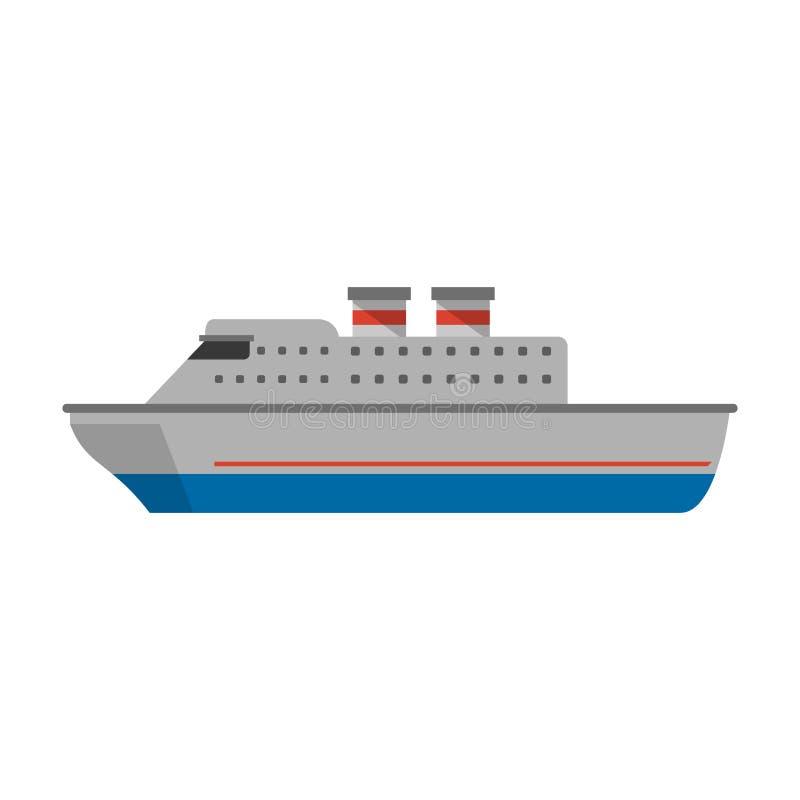 Fartyg för kryssningskepp royaltyfri illustrationer