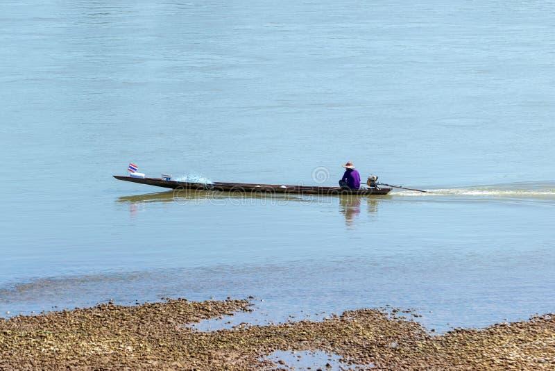Fartyg för lång svans av fiskare royaltyfri foto
