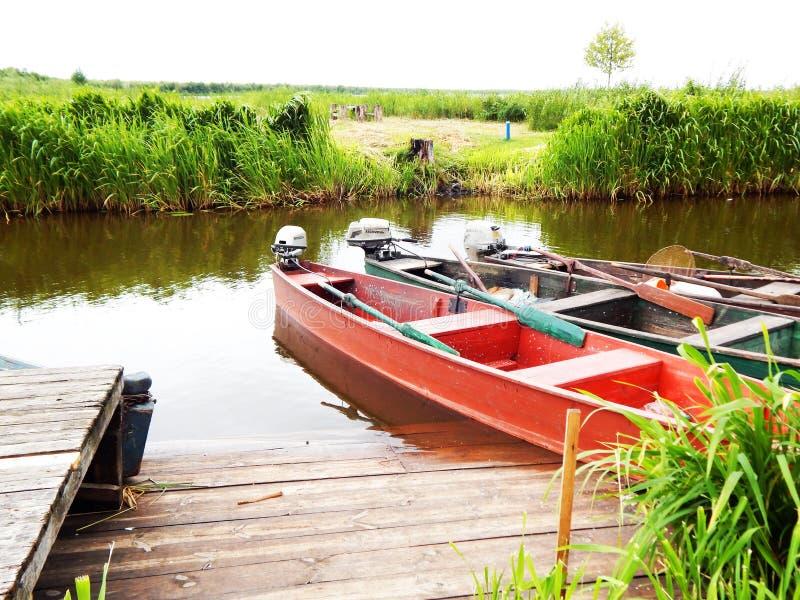 Fartyg i parkera i Vitryssland arkivbilder