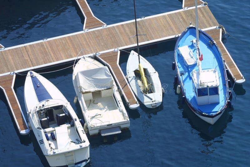 Fartyg Monaco Arkivbild