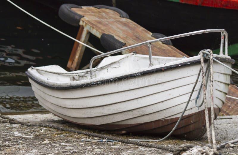 Fartyg på laken royaltyfri bild