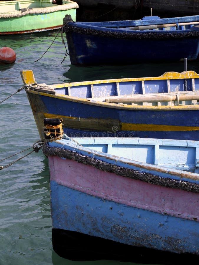 fartyg som fiskar malta arkivfoto