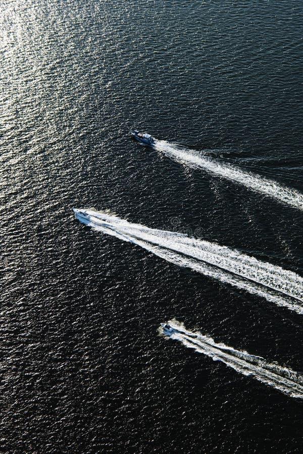 fartyg tre royaltyfri foto