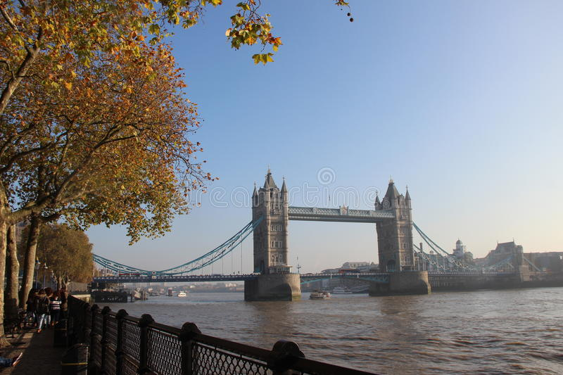 fartygbro gammala london arkivfoton