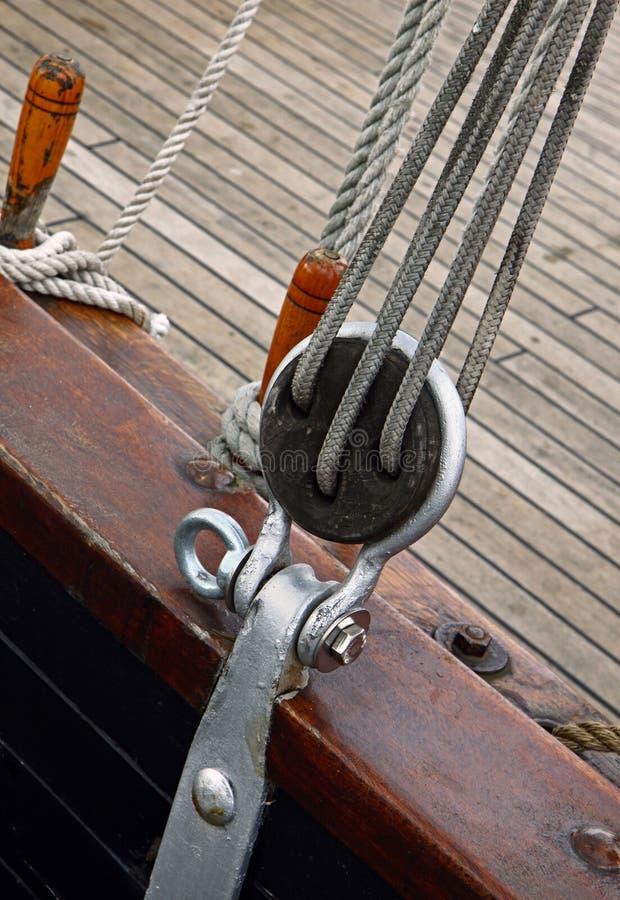 fartygdetalj royaltyfri bild