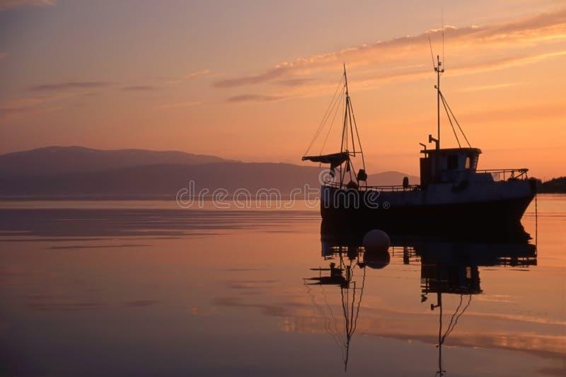 fartygfiske norway royaltyfri fotografi