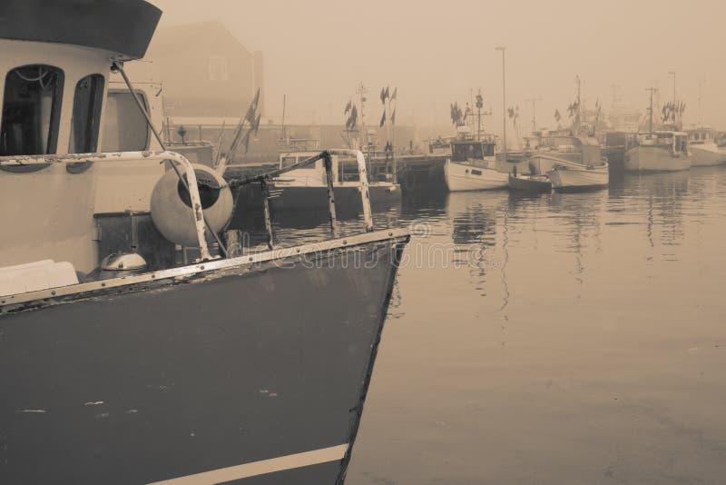 fartygfiskehamn arkivfoton