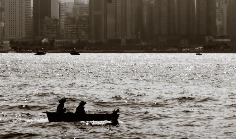 fartygfiskehav royaltyfria foton