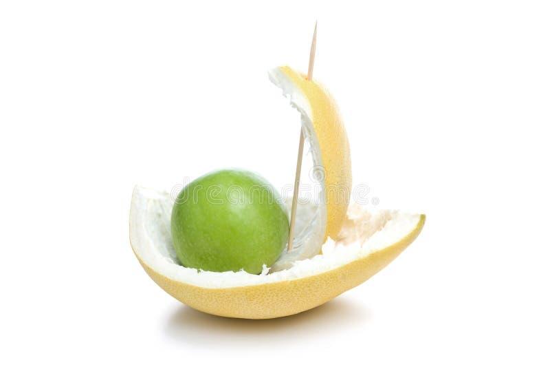 fartygfrukt royaltyfri bild