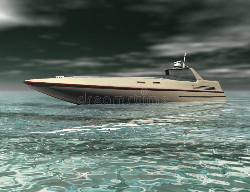 fartyghastighet vektor illustrationer