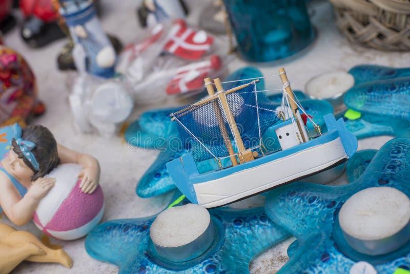 Fartygleksak arkivbild