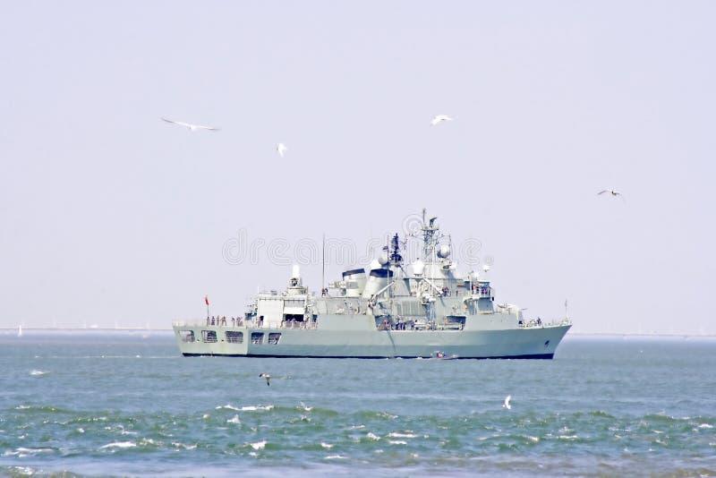 Fartygmarinflod Tagus Royaltyfri Fotografi