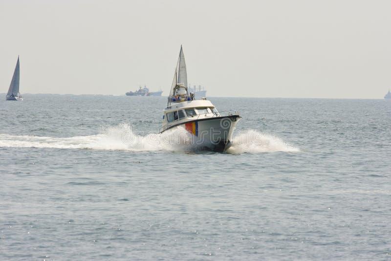 fartygpolishastighet arkivbild