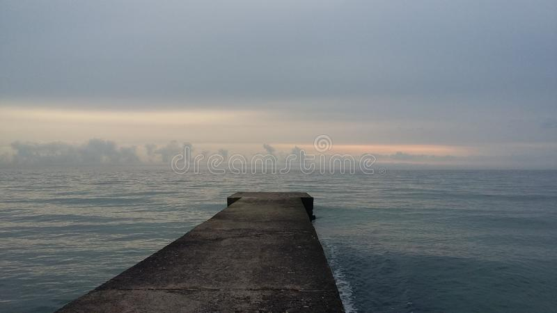 Fartygturer, som kommer med hälsa, ny luft på kusten, arkivbild
