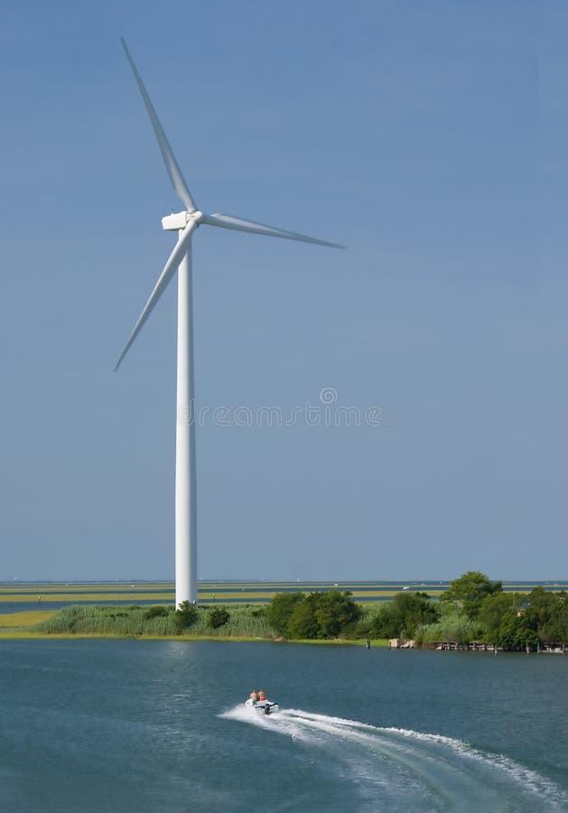 fartygwindmill royaltyfria foton