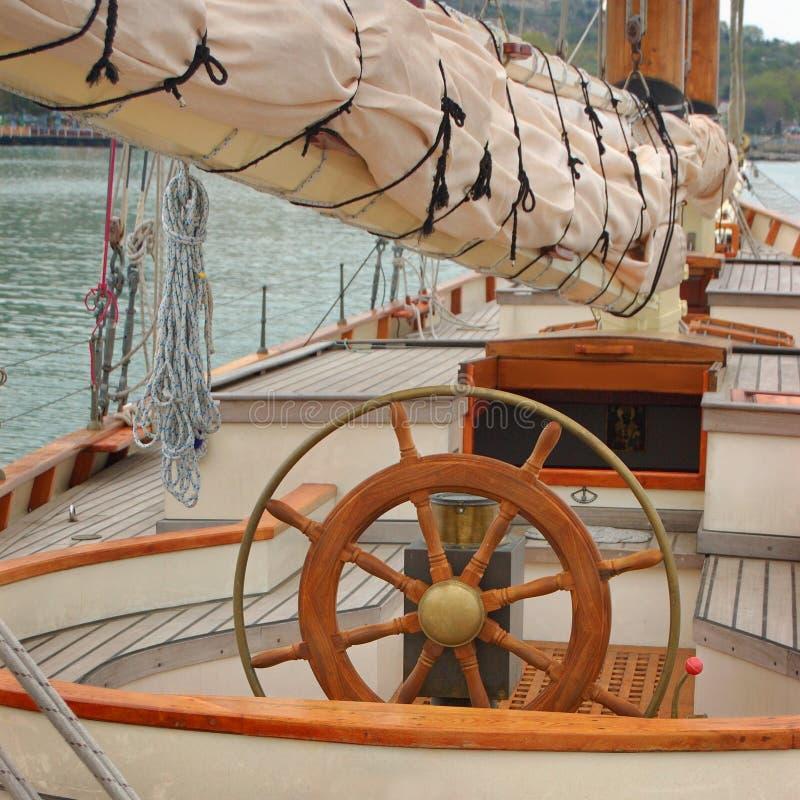 fartygyacht royaltyfria bilder