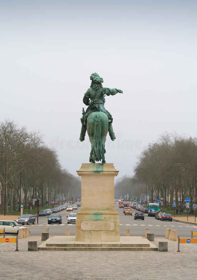 Farväl Versailles arkivbild