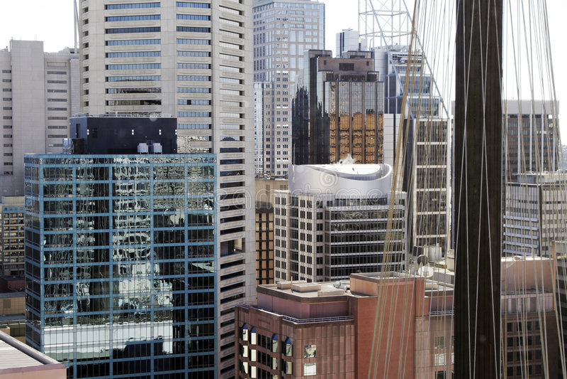 fasada budynku miasta fotografia stock