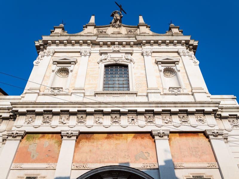 fasada Chiesa Di Sant Alessandro della Croce obrazy royalty free