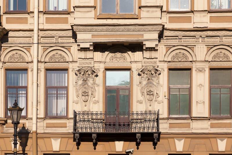 Fasada dom obraz stock
