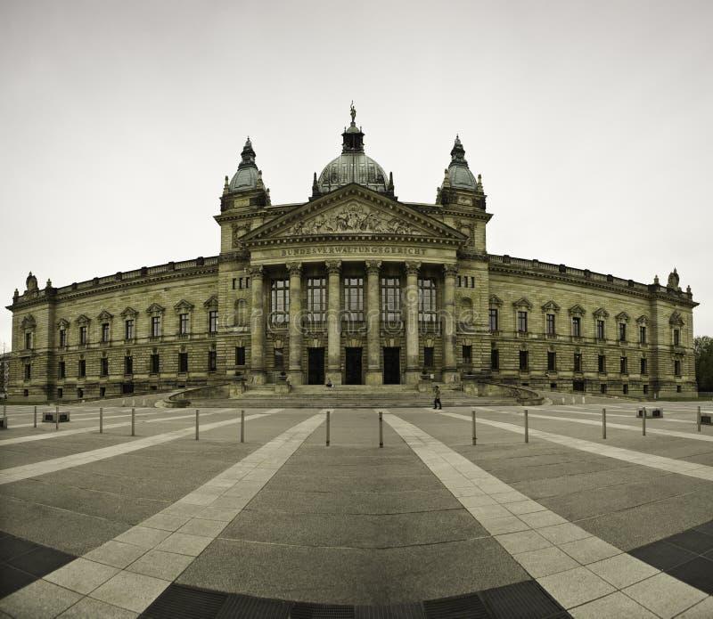 Fasada Federacyjny Administracyjny sąd, Niemcy fotografia stock