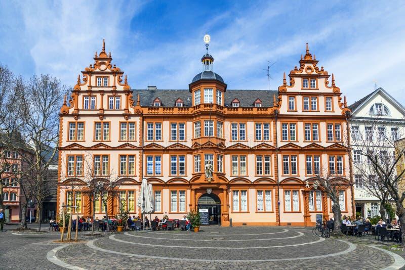 Fasada Gutenberg dom w Mainz fotografia stock