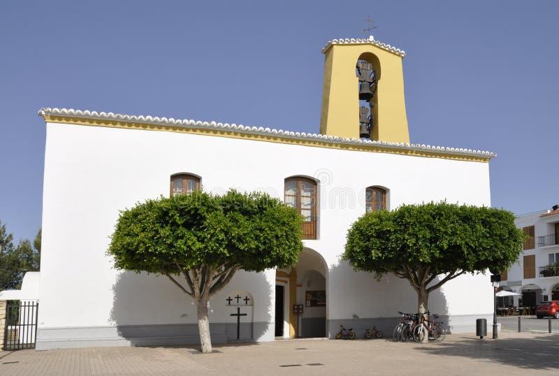 Fasada St Gertrudis De Fruitera kościół fotografia stock