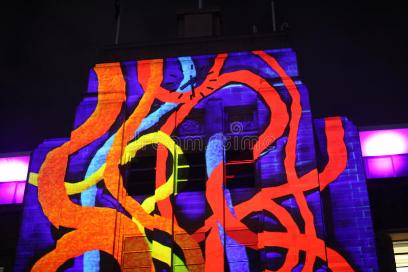 Fasada Sydney muzeum dzisiejsze ustawy obraz stock