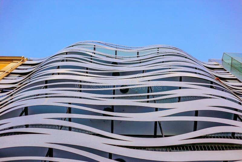Fasada Toyo Ito w Barcelona zdjęcie royalty free