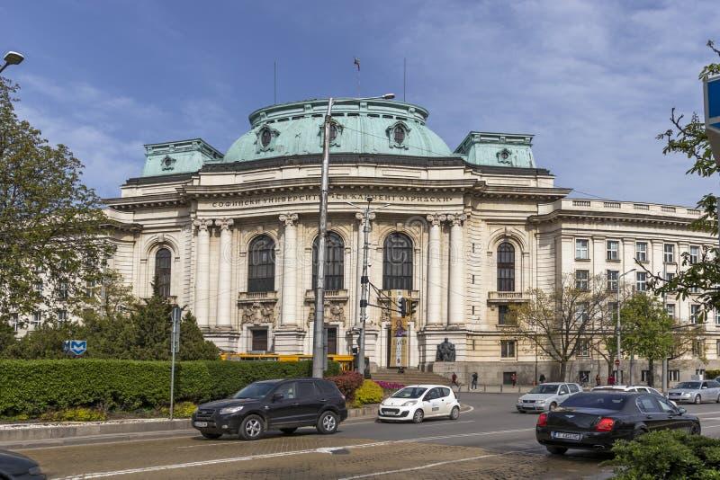 Fasada uniwersytet Sofia St Kliment Ohridski, Bu?garia obrazy royalty free