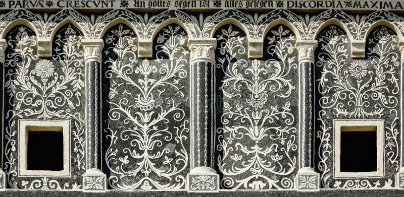 Fasade arkivbild