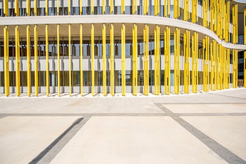 Fasade coloré de bâtiment photo stock