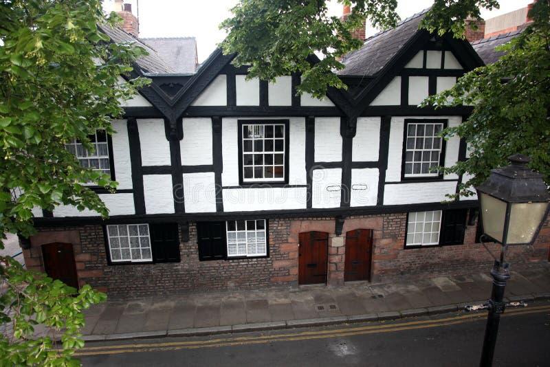 Fasade Haus der Tudor Art stockfoto