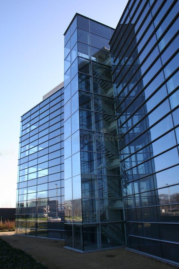 fasadexponeringsglas arkivbilder
