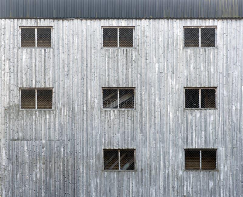 fasadowy szary drewniany fotografia royalty free