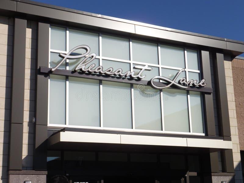 Fasan-Weg-Mall in Nashua, New Hampshire lizenzfreie stockfotografie