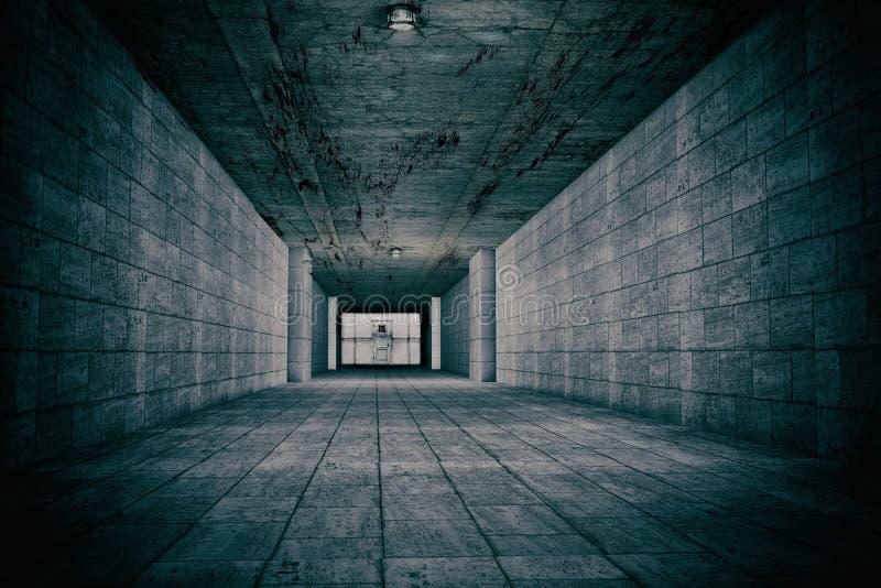 Fasaplats av den mentala institutionen arkivbilder