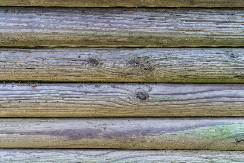Fasci di legno fotografie stock