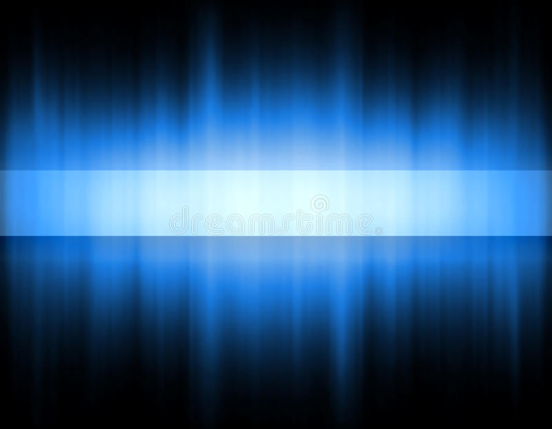 Fascia blu illustrazione vettoriale