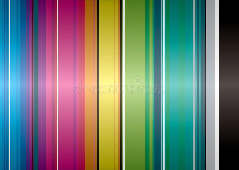 Fascia del Rainbow illustrazione di stock