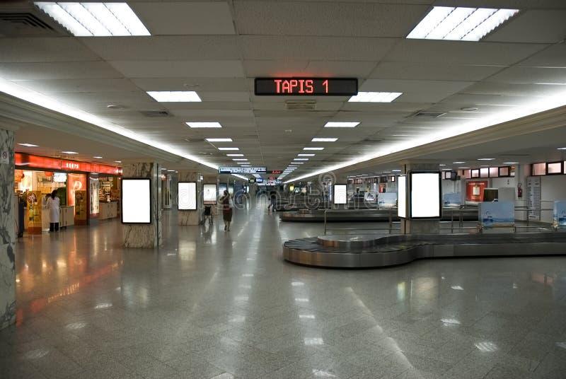 Fascia di arrivo dell'aeroporto fotografia stock libera da diritti