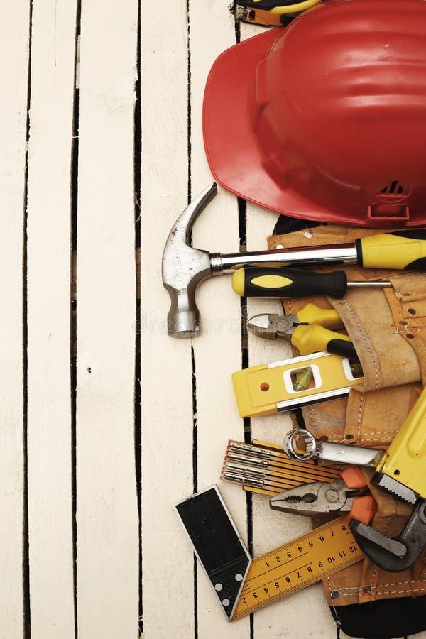 Fascia e strumenti dello strumento fotografia stock