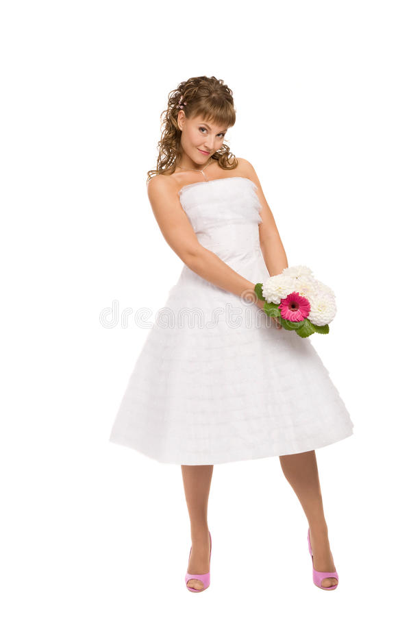 Download Fascinating bride stock photo. Image of person, cute - 27898448