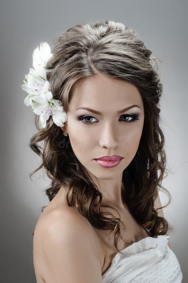 Fascination bride royalty free stock photos