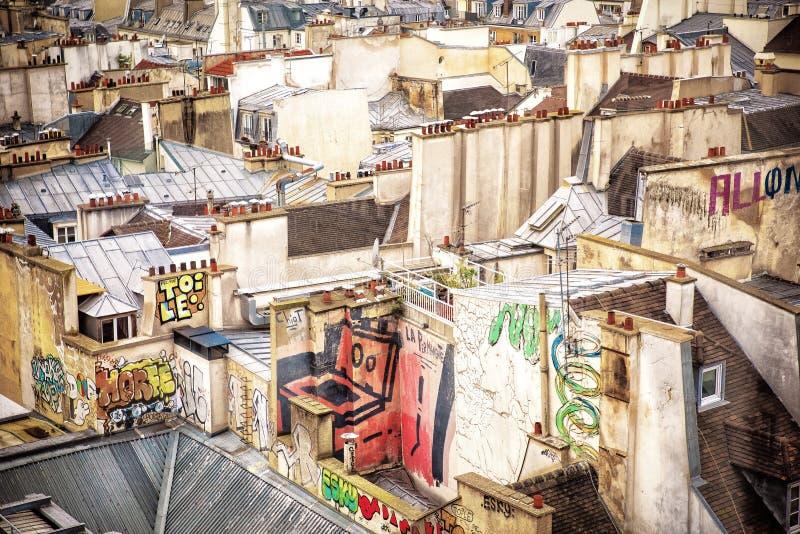 Fascynujący dachy zdjęcie stock