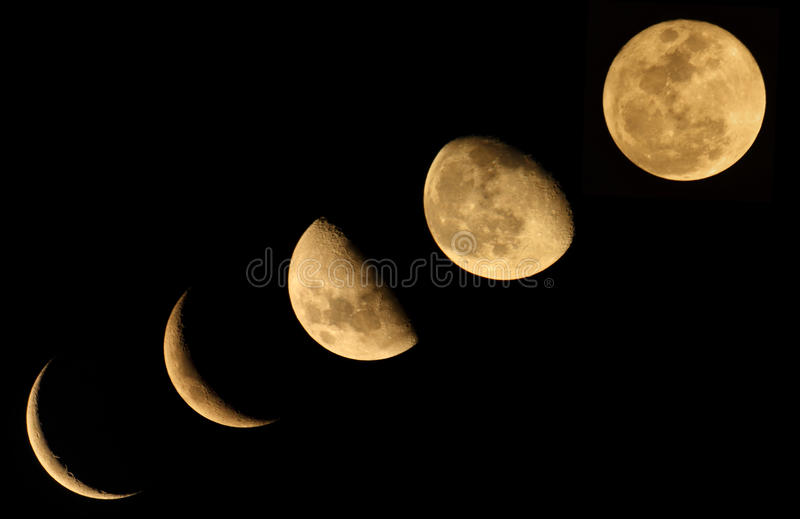 A fase da lua