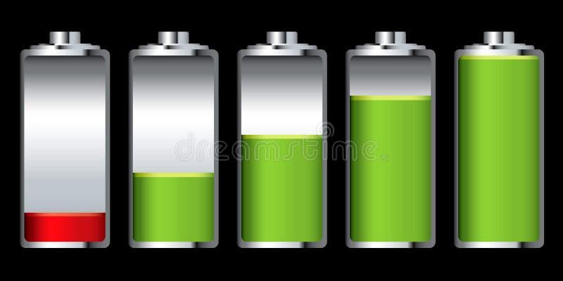 Fase della carica della batteria royalty illustrazione gratis